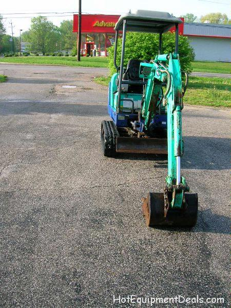 2004 IHI Compact Excavator Sales 17NE Used $11,900.00