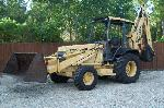 1996 Ford 675 D Backhoe 4x4