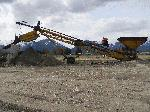 single deck gravel screening